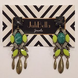 Jewelry - Fashion Summer Statement Earrings Gold